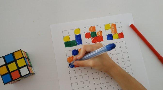 Actividad con el cubo de Rubik